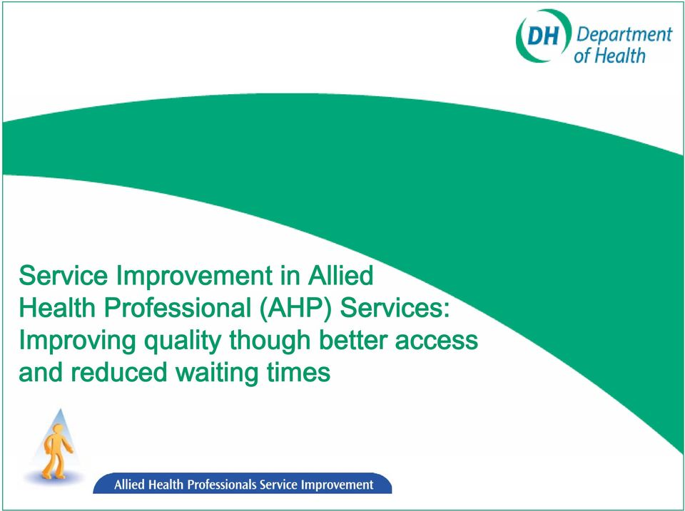 Services: Improving quality