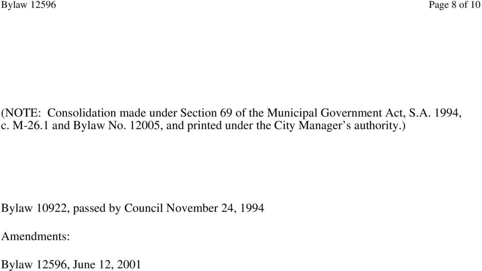 12005, and printed under the City Manager s authority.