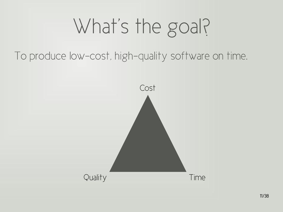 high-quality software