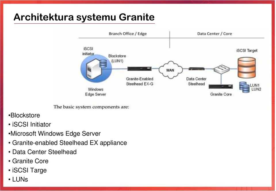 Server Granite-enabled Steelhead EX