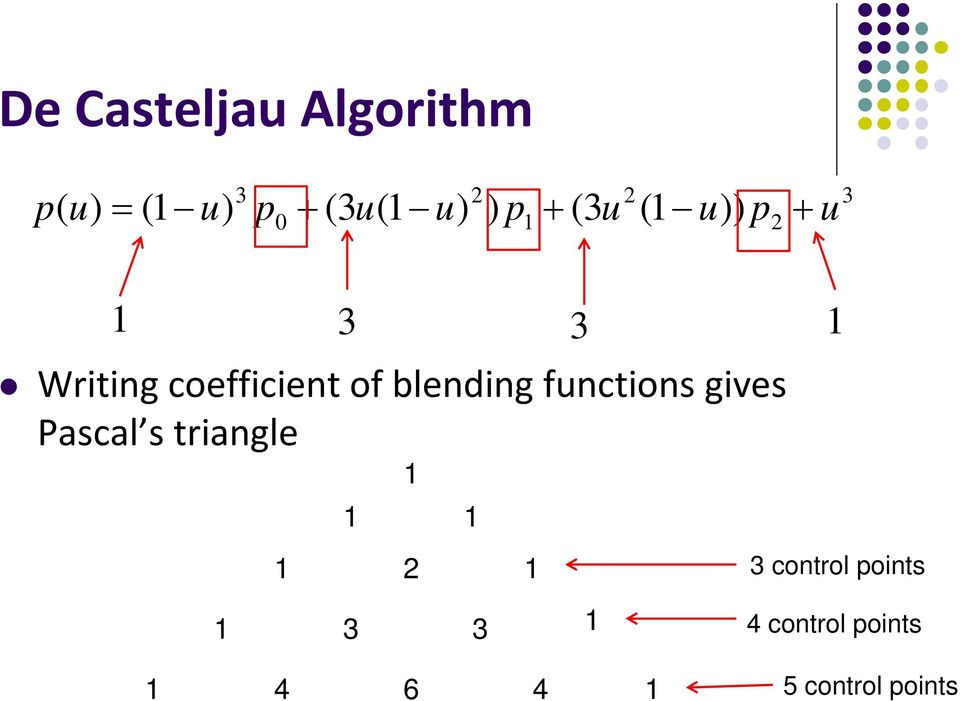 functions gives Pascal s triangle 1 1 1 1 1 1 1