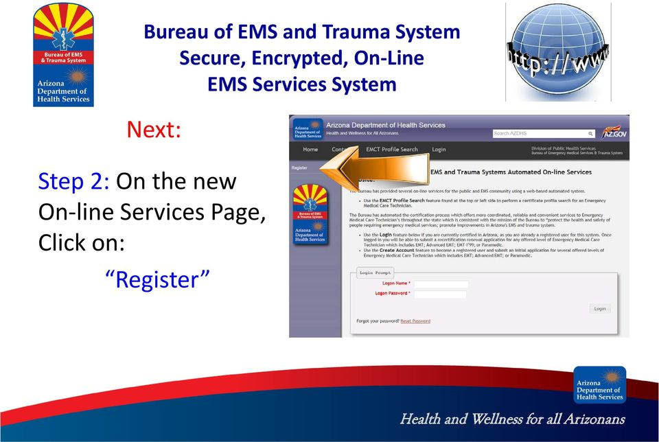 Services Page,