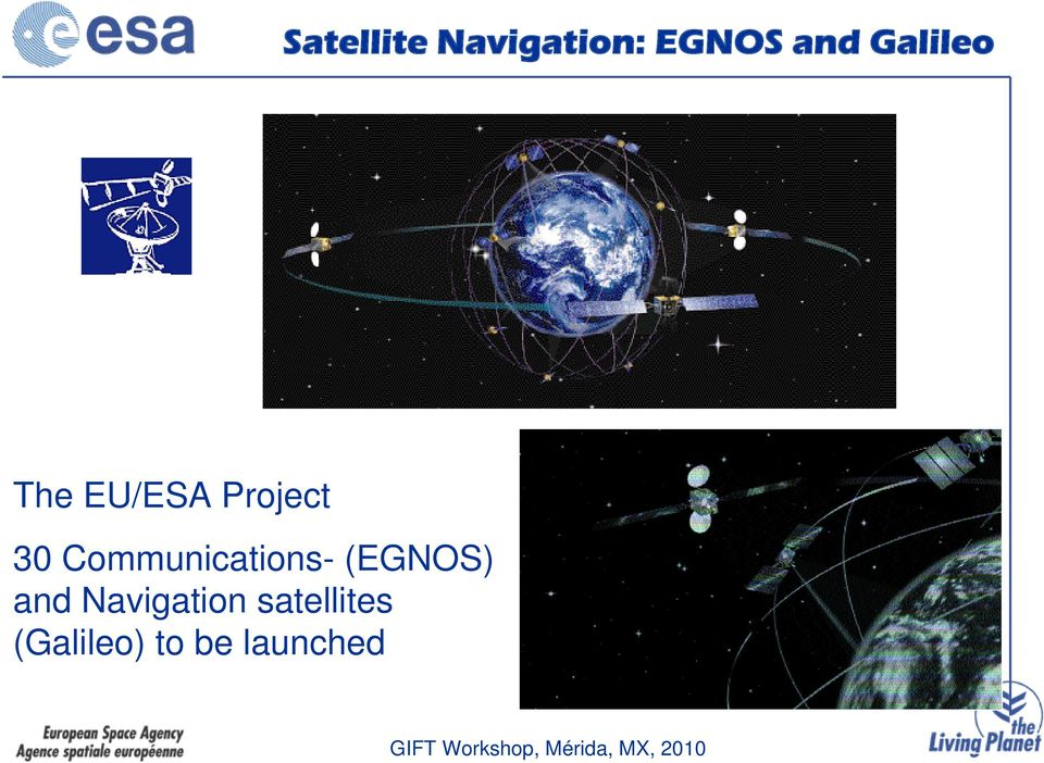Communications- (EGNOS) and