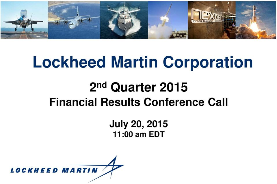 2015 Financial Results