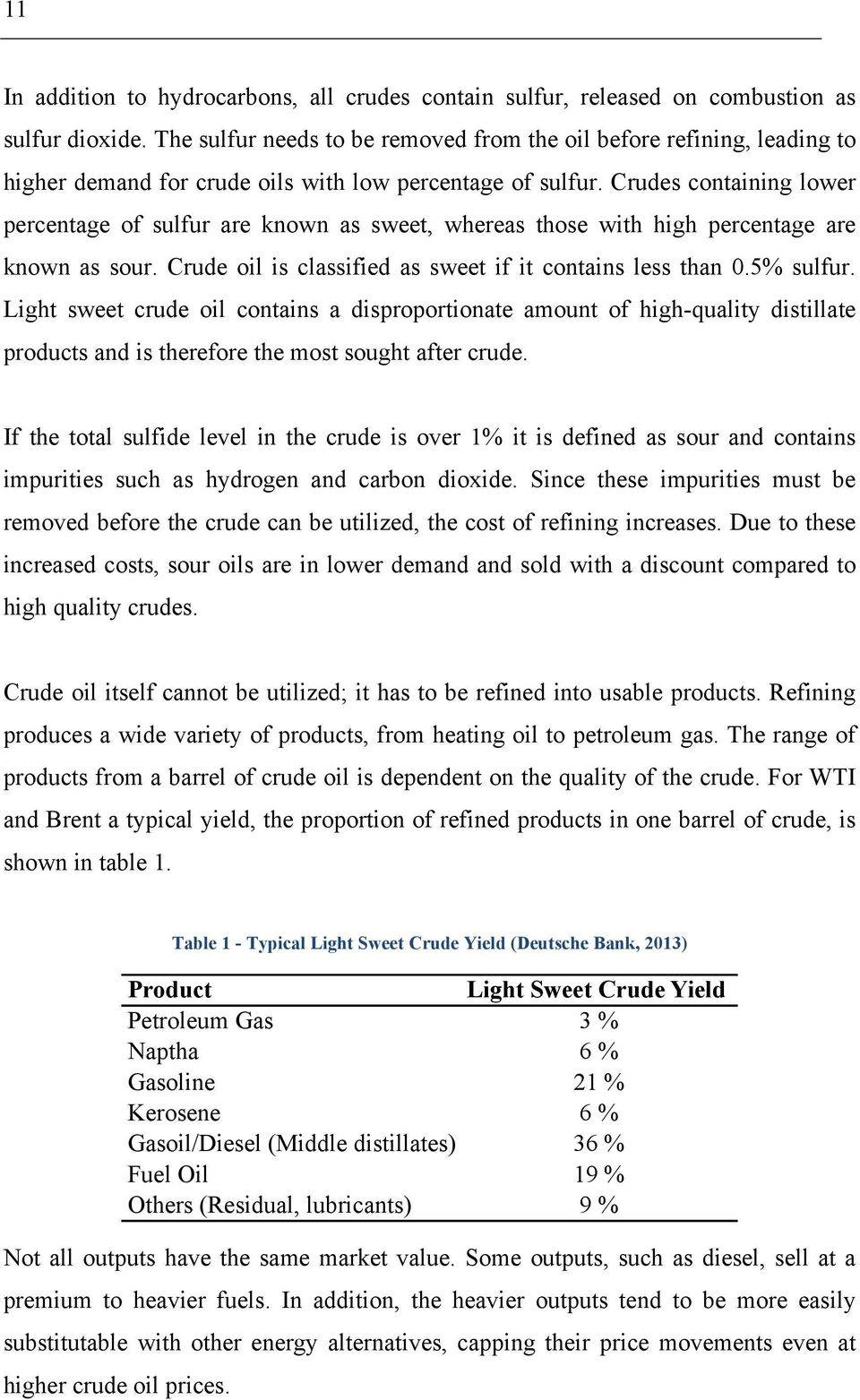 Crude Oil Price Differentials - PDF