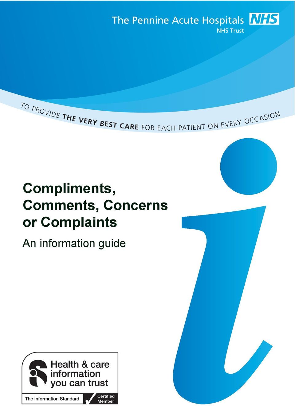 OCCASION Compliments, Comments,