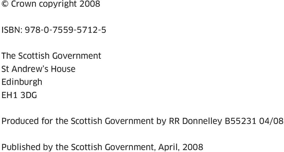 3DG Produced for the Scottish Government by RR