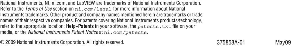 Other product and company names mentioned herein are trademarks or trade names of their respective companies.
