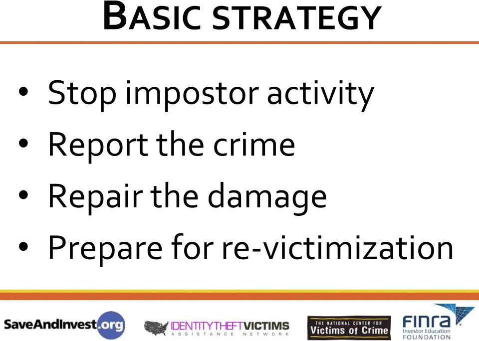 the crime Repair the