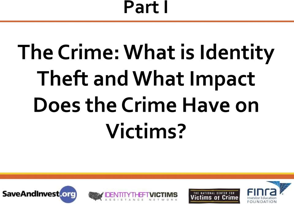Theft and What Impact