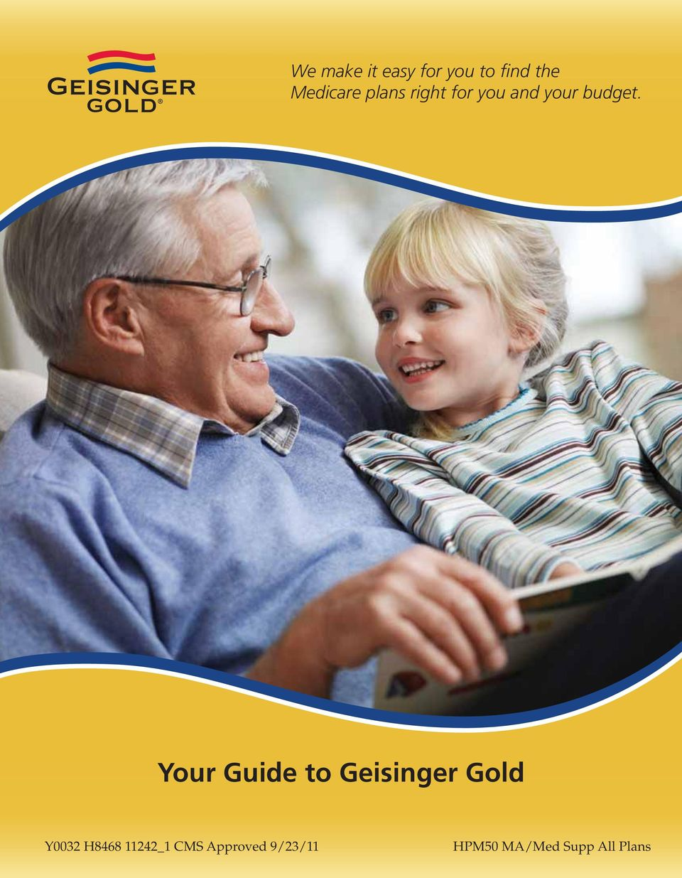 Your Guide to Geisinger Gold Y0032 H8468