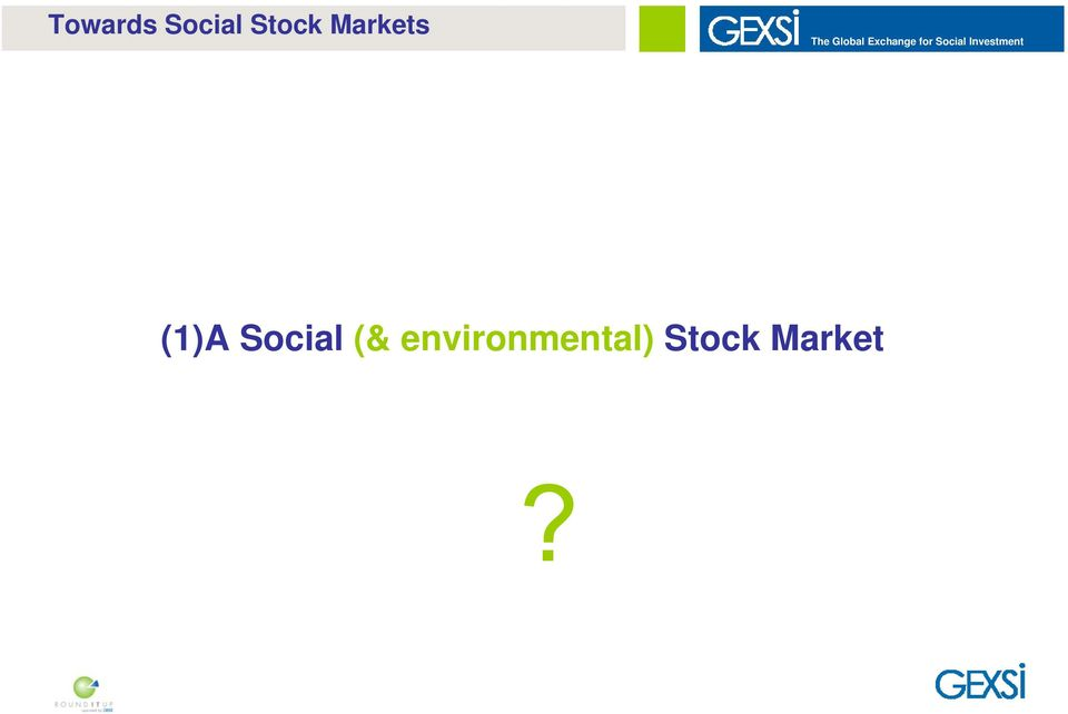 Social Investment (1)A