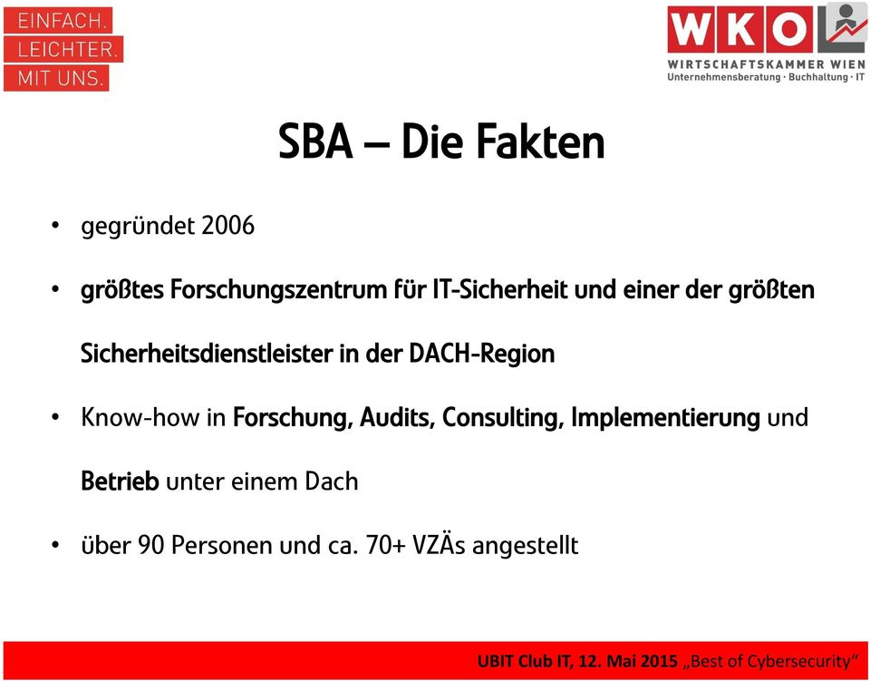 DACH-Region Know-how in Forschung, Audits, Consulting,