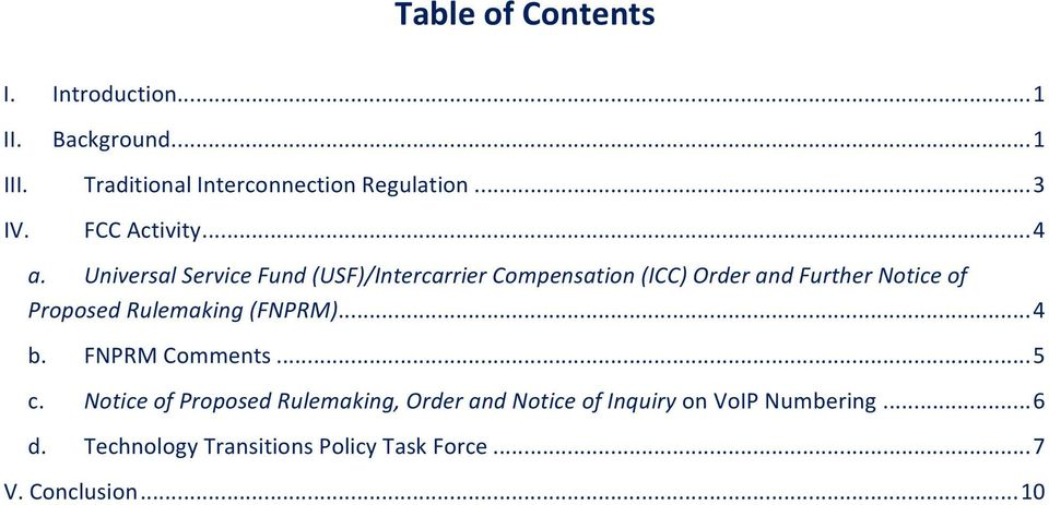 Universal Service Fund (USF)/Intercarrier Compensation (ICC) Order and Further Notice of Proposed