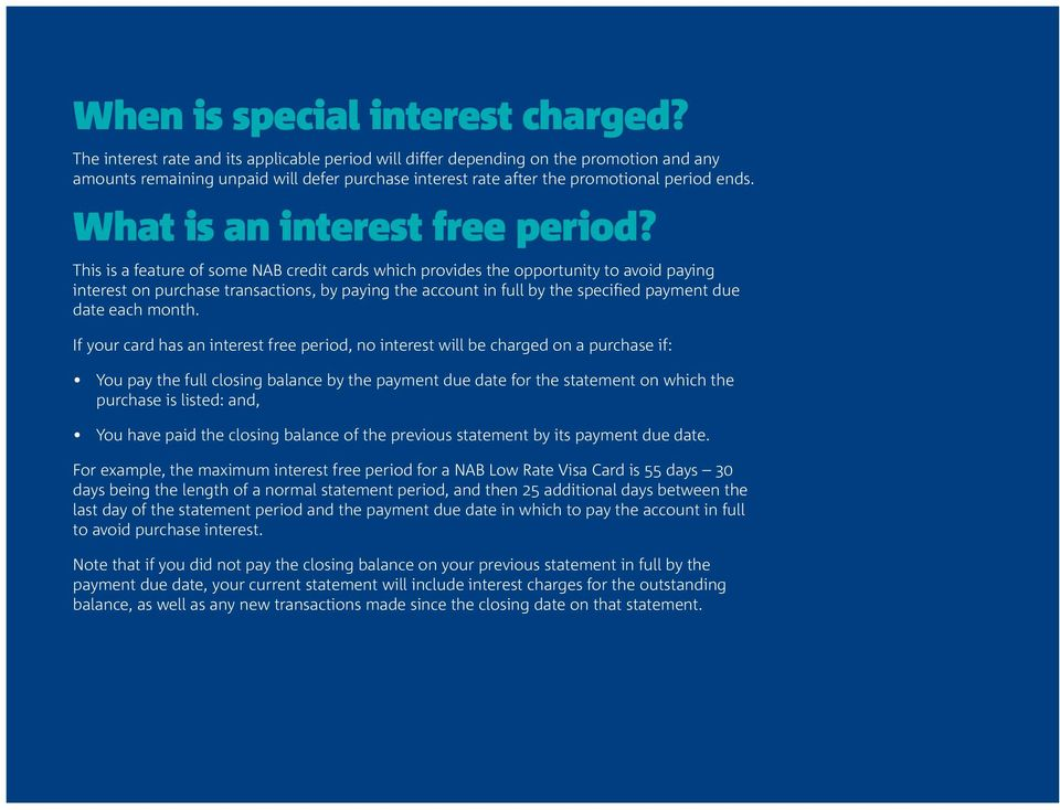 Facts about credit card interest - PDF