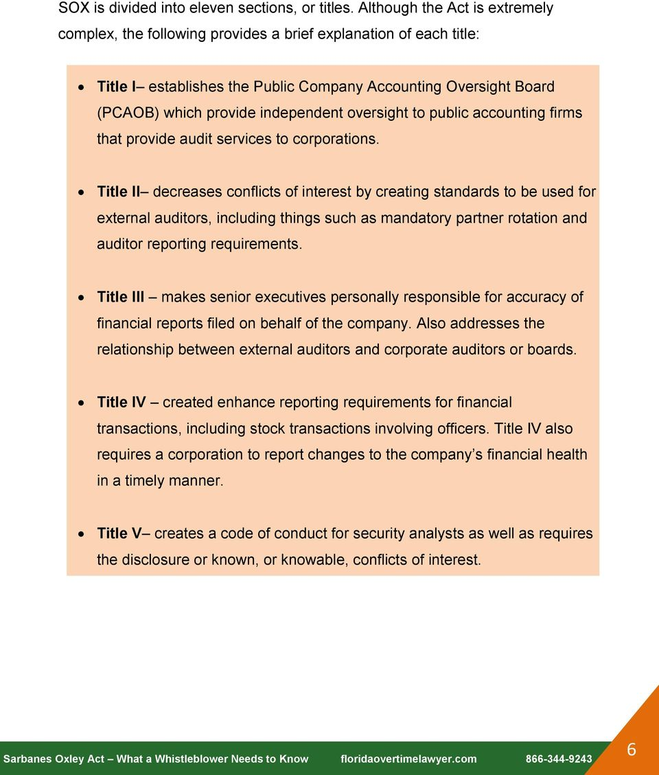 oversight to public accounting firms that provide audit services to corporations.