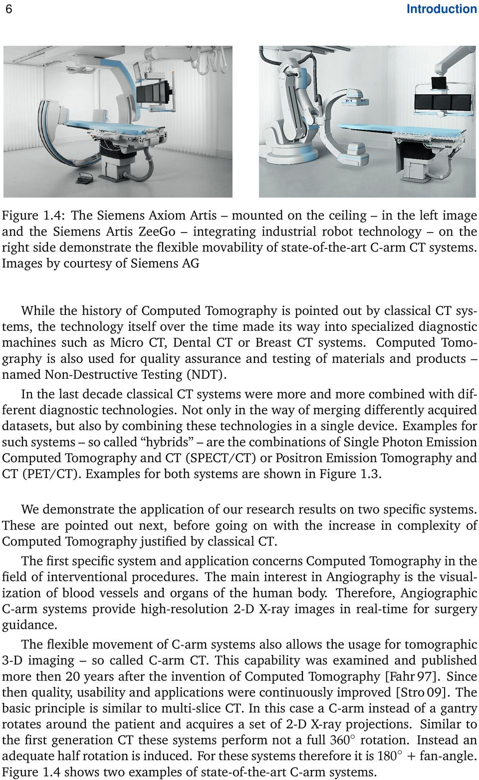 state-of-the-art C-arm CT systems.