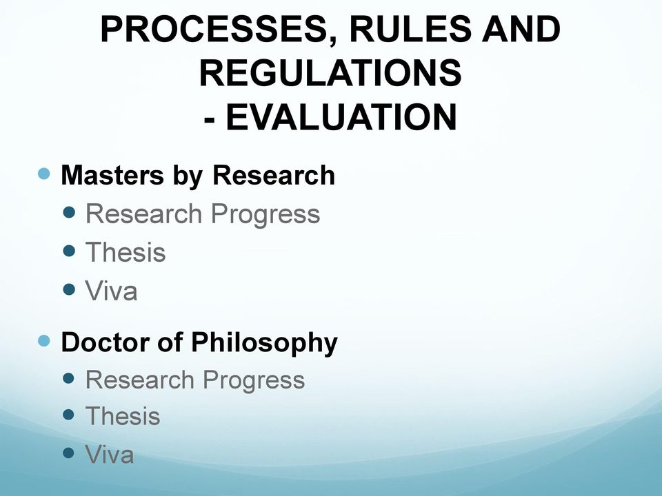 dissertation viva presentation Thesis submission and viva all research degrees are assessed by thesis and an oral examination (viva) presentation, consultation and.