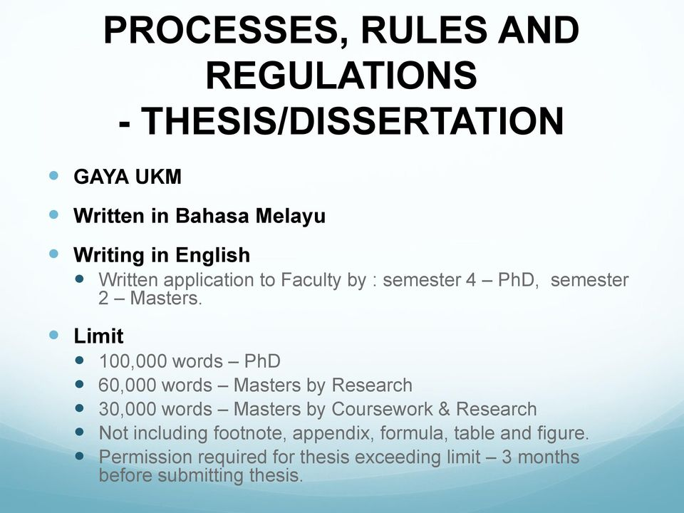 phd by coursework and dissertation The shorter thing is a dissertation and the longer thing is a thesis in the uk - hence an honours dissertation, a ba or bsc dissertation (tagged on at the end of coursework), but an mphil or mlitt thesis and a phd or dphil thesis.