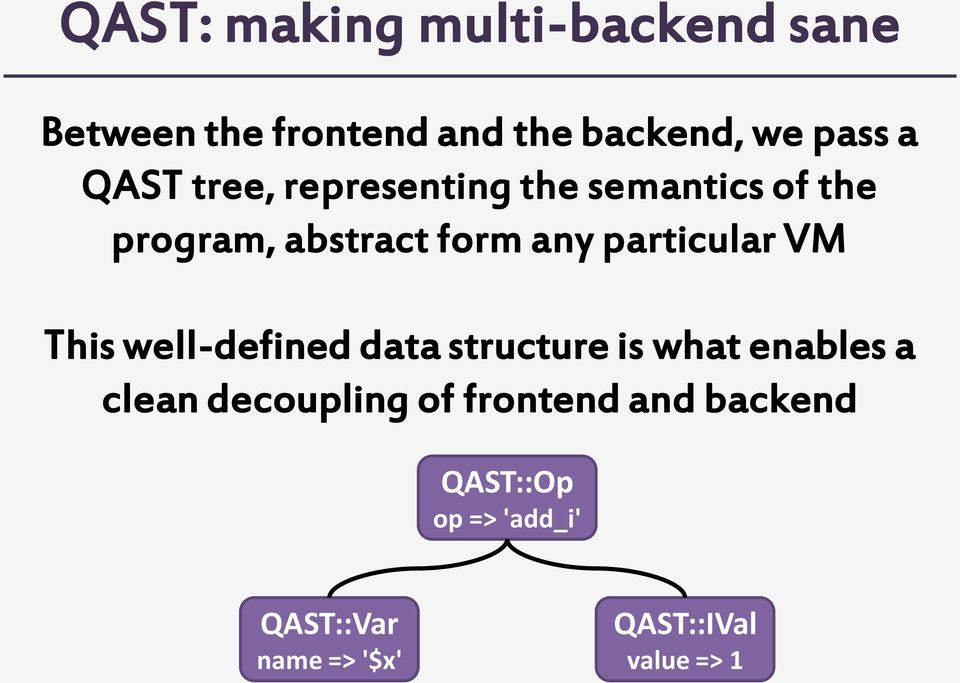particular VM This well-defined data structure is what enables a clean decoupling