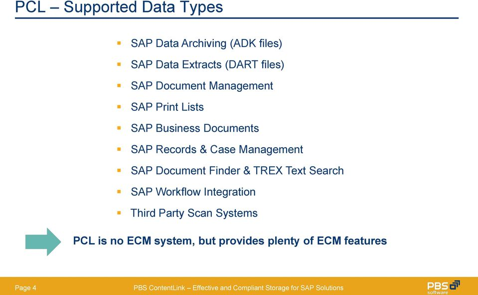 Case Management SAP Document Finder & TREX Text Search SAP Workflow Integration