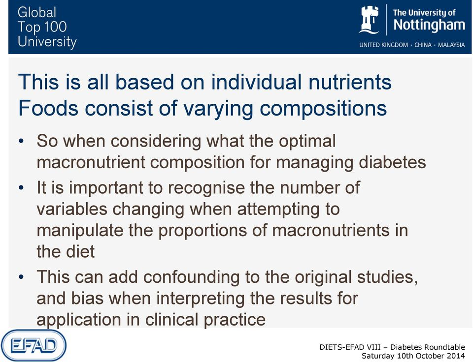 variables changing when attempting to manipulate the proportions of macronutrients in the diet This can