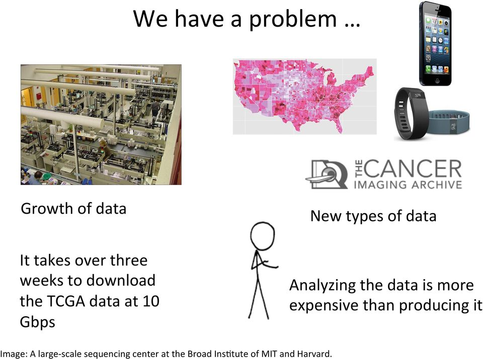 the data is more expensive than producing it Image: A large-