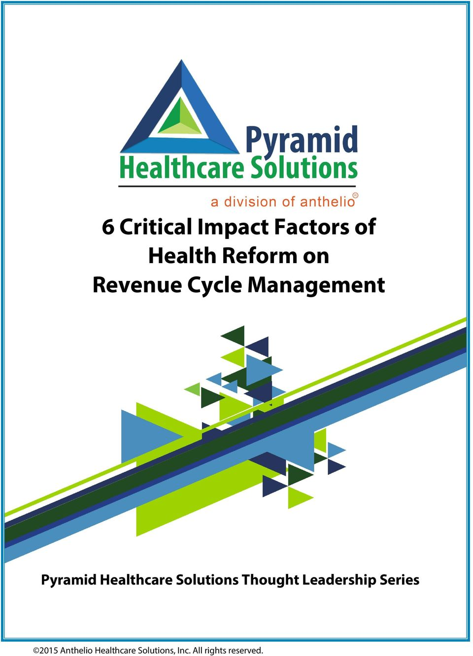 Management Pyramid Healthcare