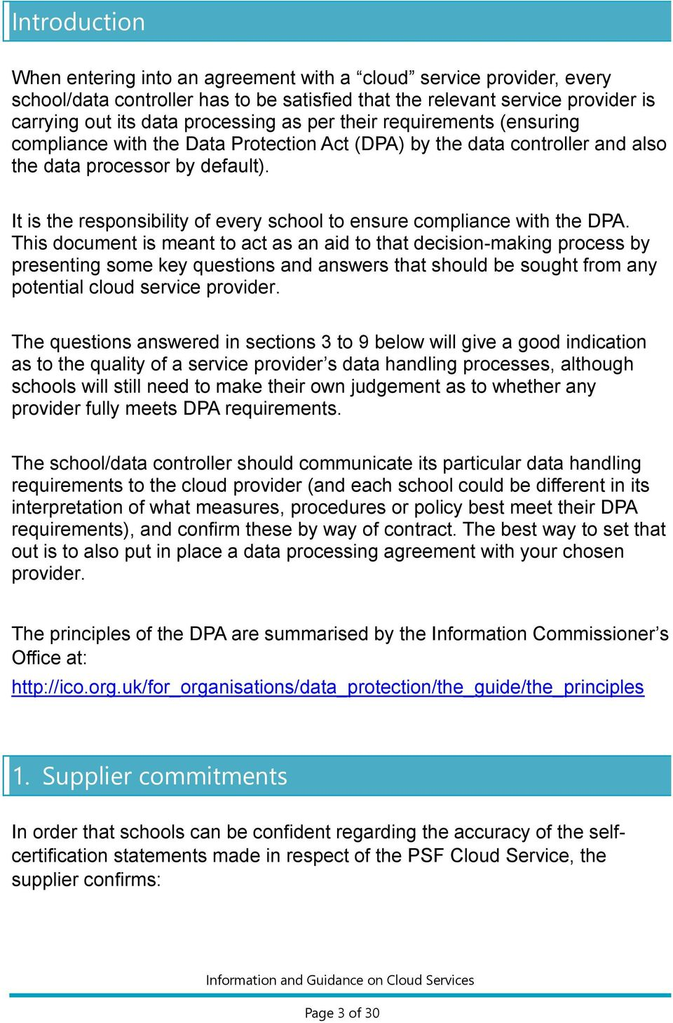 It is the responsibility of every school to ensure compliance with the DPA.