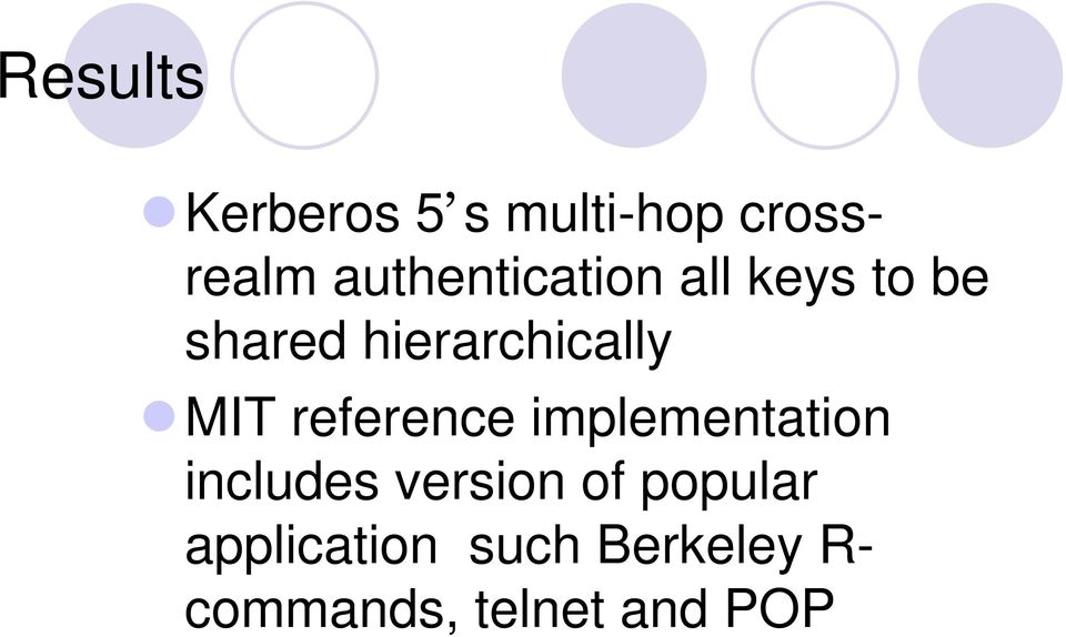 hierarchically MIT reference implementation