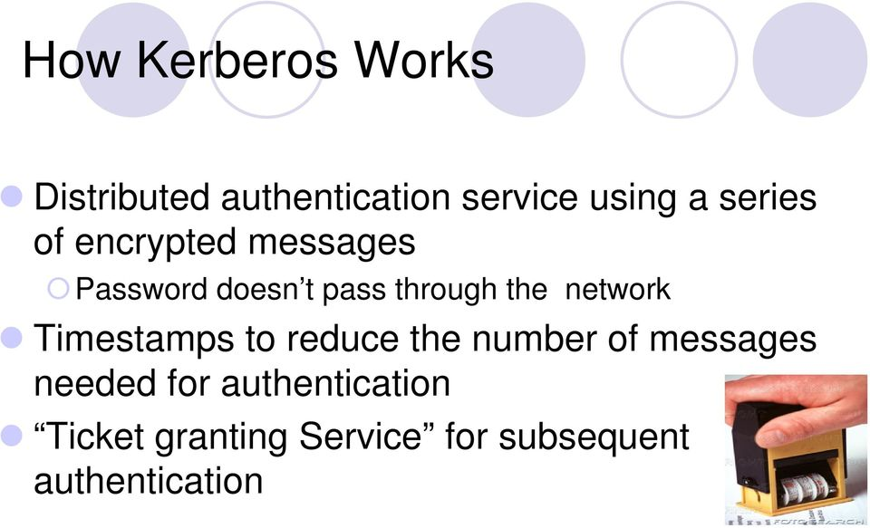 network Timestamps to reduce the number of messages needed for
