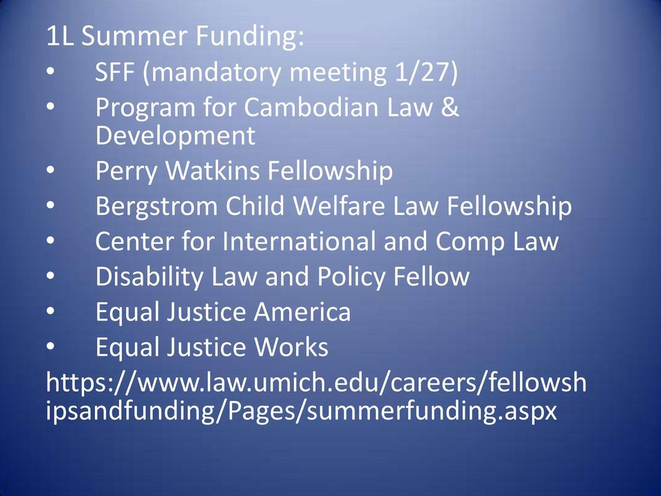 International and Comp Law Disability Law and Policy Fellow Equal Justice America