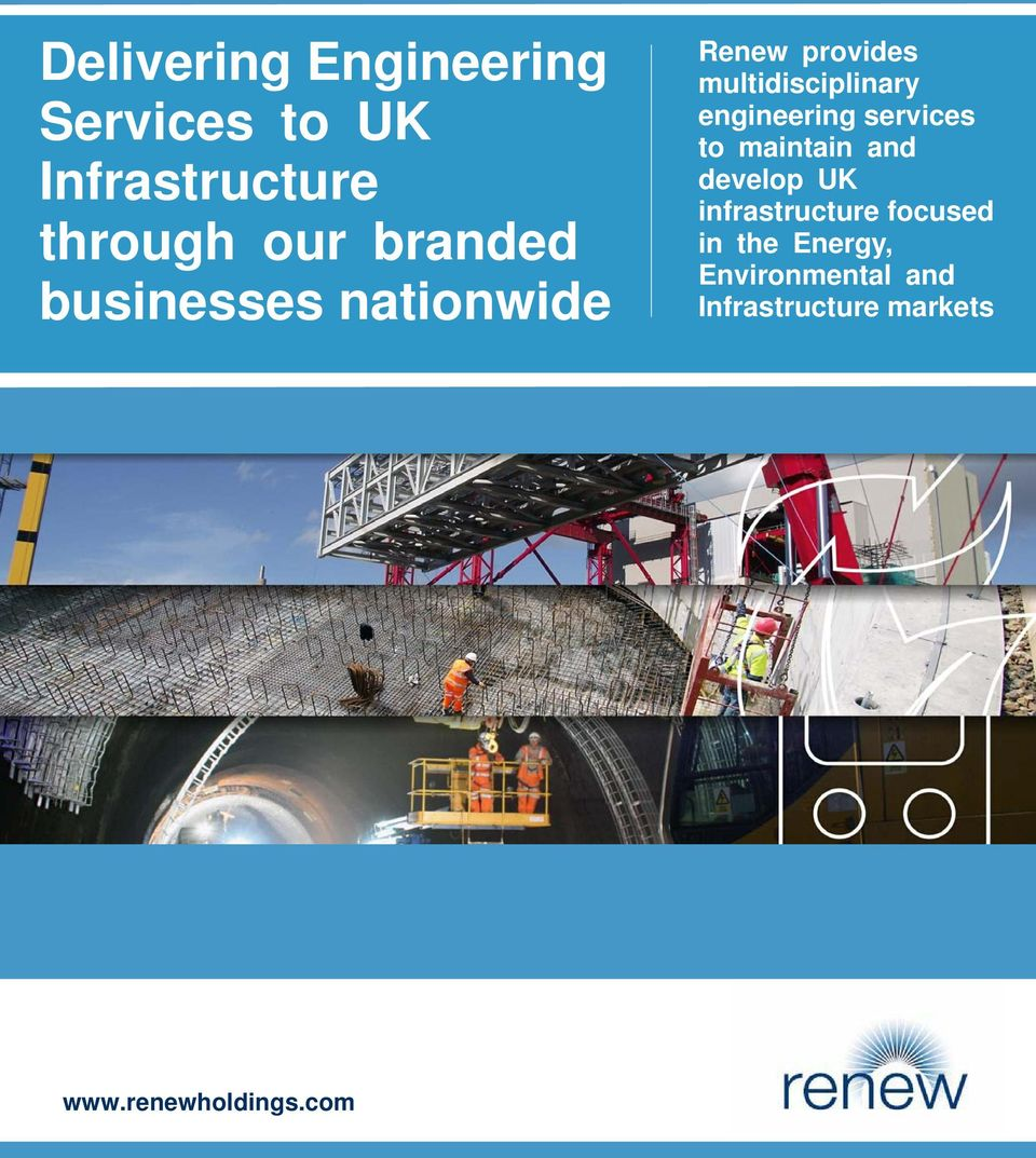 engineering services to maintain and develop UK infrastructure