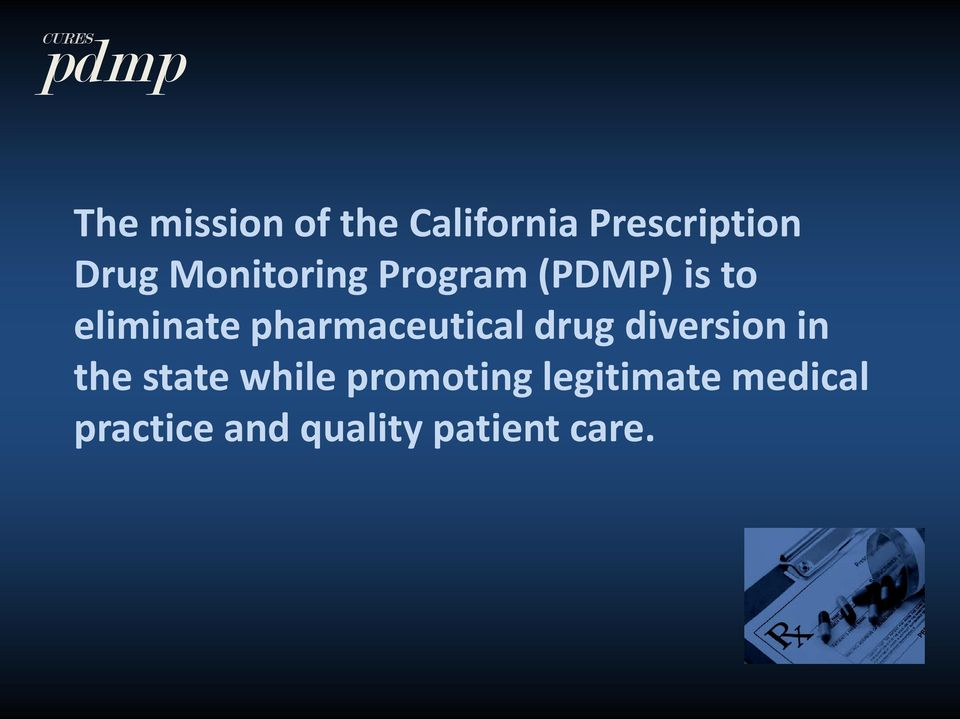 pharmaceutical drug diversion in the state while