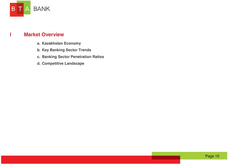 Key Banking Sector Trends c.
