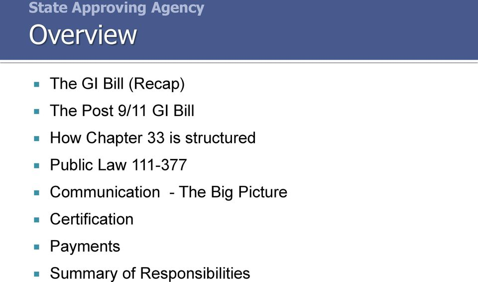 structured Public Law 111-377 Communication - The