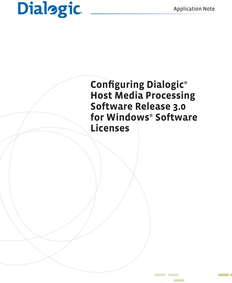 Software Release 3.
