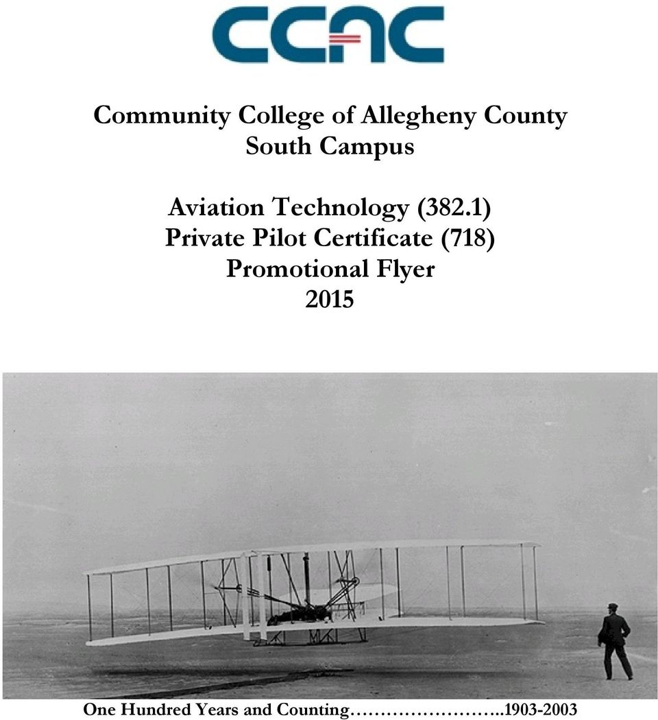 1) Private Pilot Certificate (718)