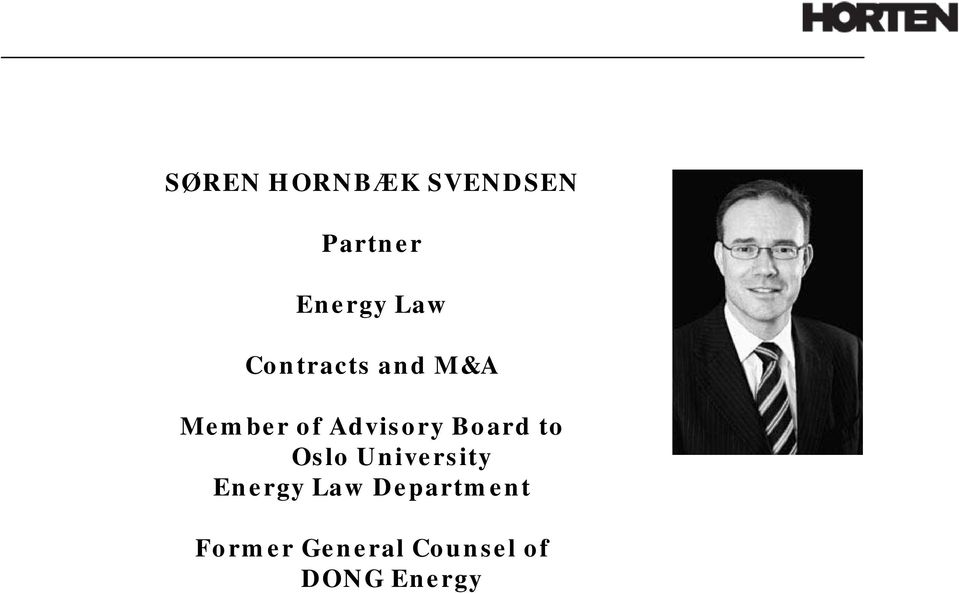 Board to Oslo University Energy Law