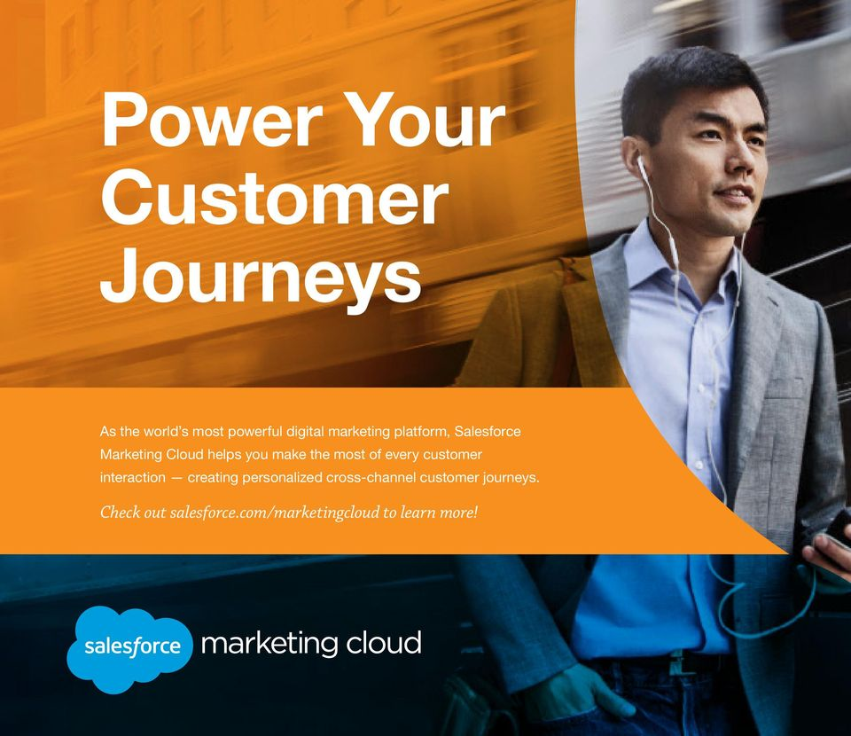 customer interaction creating personalized cross-channel customer journeys.