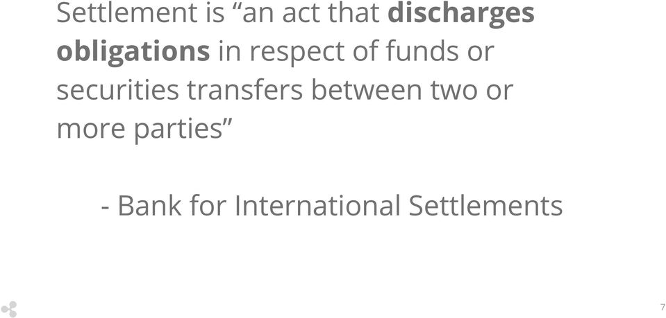 securities transfers between two or