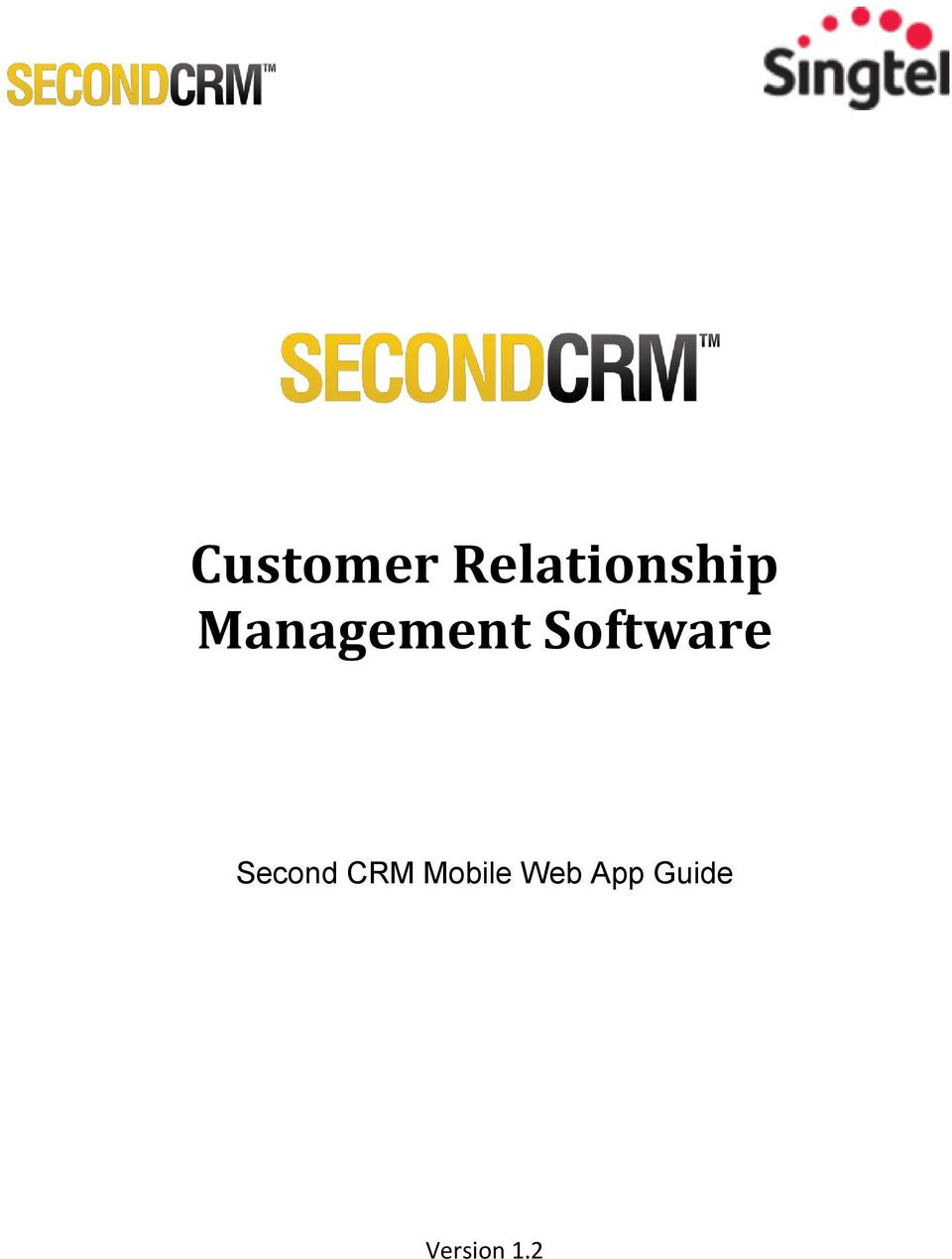 Second CRM Mobile Web