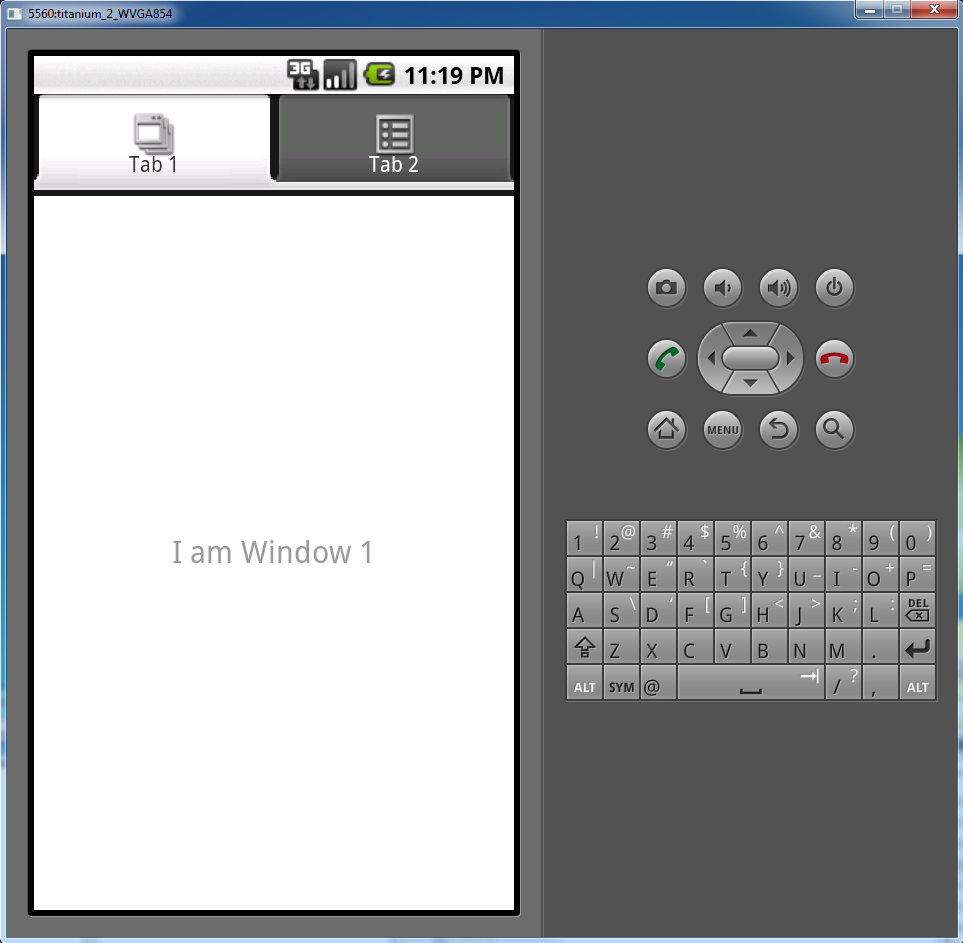 Step 2: Running the Sample Applications emulator to eventually start the app. If the Android emulator shows the Locked screen, press the emulator's Menu button to unlock it.