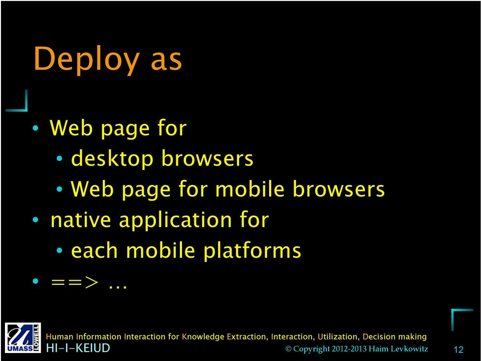 mobile browsers native