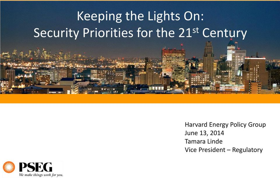 Harvard Energy Policy Group June 13,