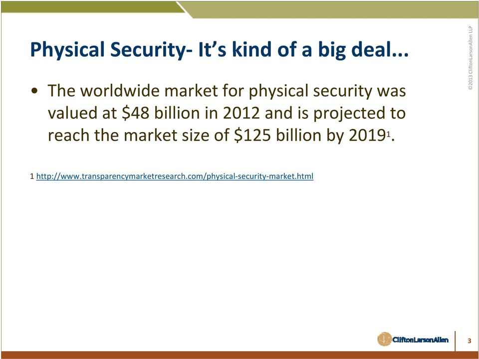 billion in 2012 and is projected to reach the market size of $125