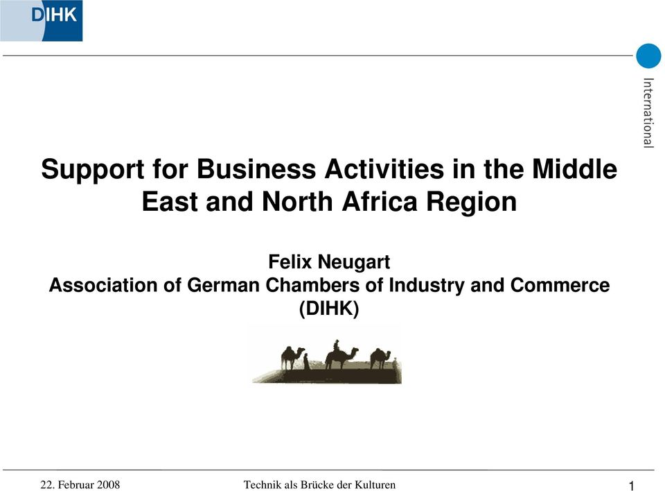 of German Chambers of Industry and Commerce (DIHK)