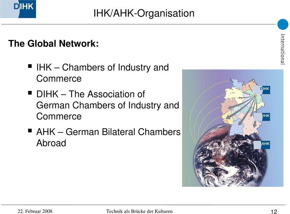 Chambers of Industry and Commerce AHK German Bilateral