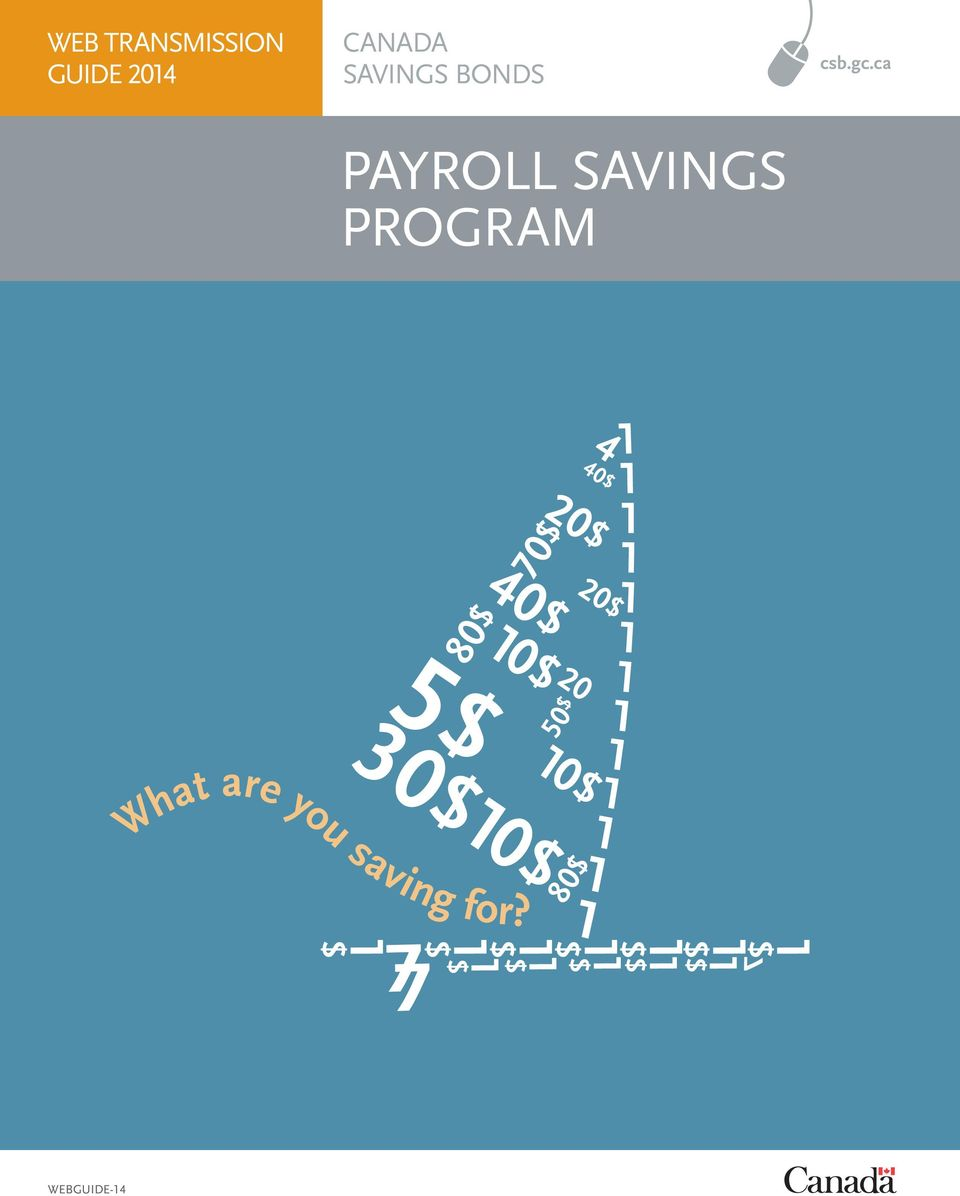 ca PAYROLL SAVINGS PROGRAM 40$ 5$ 30$ 0$ 20$ 80$