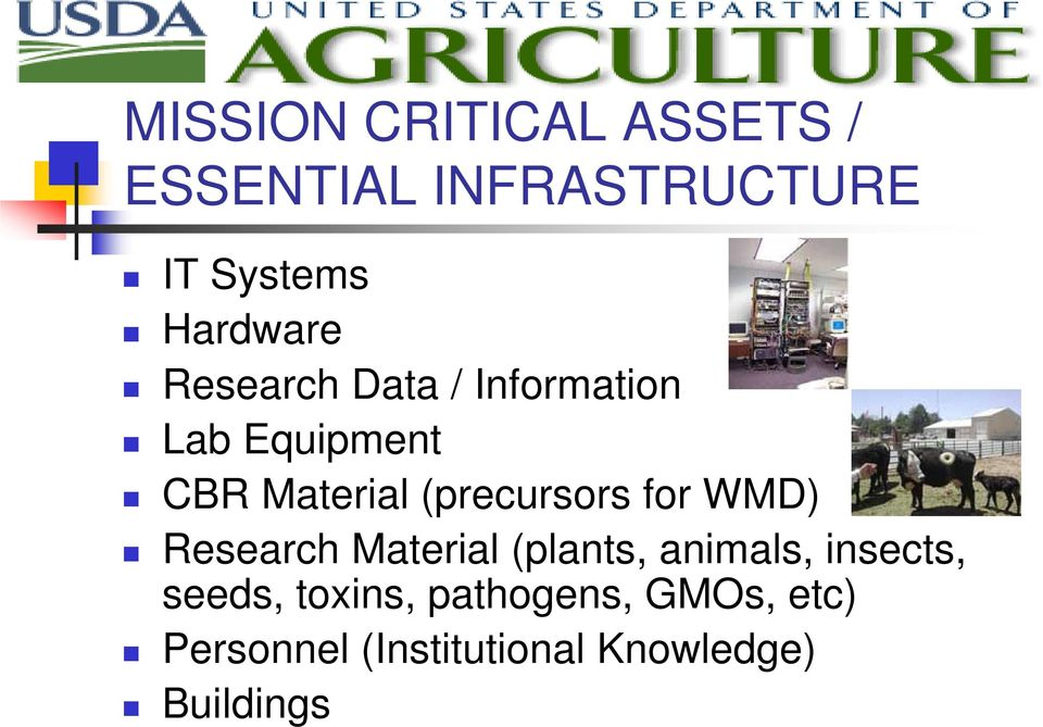 (precursors for WMD) Research Material (plants, animals, insects,